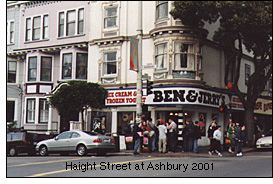 Haight Street at Ashbury